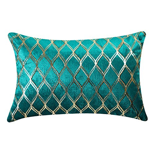 Pure Home + Living Moroccan Embroidered Velvet Cushion Cover - 12