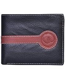 Vagan-Kate o black leather wallet for men
