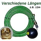 Saugschlauch Set mit Schwimmer für Elektropumpen * HIER * in 4m, 7m, 12m, 20m (** z.B. 12m **)