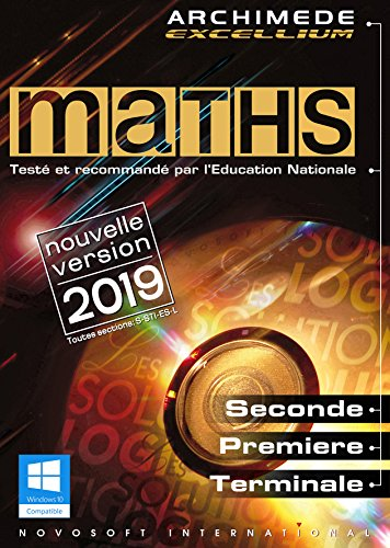 MATHS - Archimède Excellium 2019 pour Windows (XP, 7, 8, 10)