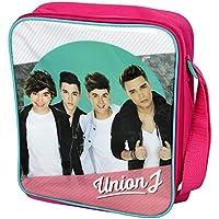 Preisvergleich für Kinder Mädchen Lunch-Box / Lunch-Tasche / Brotzeit-Tasche im Union J Design, isoliert (Einheitsgröße) (Fuchsia/Türkis)