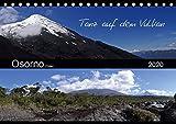 Tanz auf dem Vulkan - Osorno (Chile) (Tischkalender 2020 DIN A5 quer): Der chilenische Vulkan Osorno mit seinen umgebenen Wasserfällen, Seen und ... (Monatskalender, 14 Seiten ) (CALVENDO Natur) -