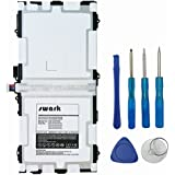 Swark Akku für Samsung Galaxy Tab S 10.5 SM-T800 SM-T801 T805 SM-T807 SM-T807P EB-BT800FBE EB-BT800FBC Ersatzakku Batterie Tabletakku enthalten Installation Tools