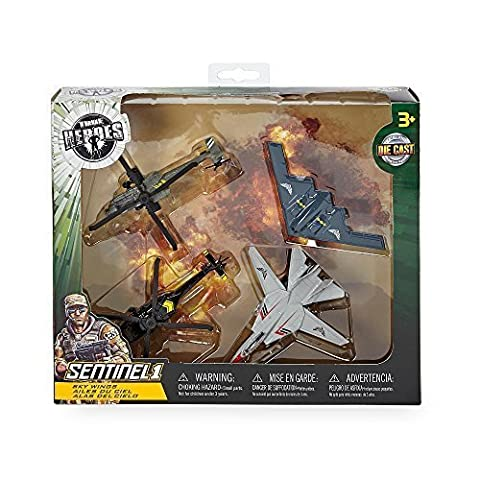 True Heroes Sentinel 1 Die Cast Sky Wings - 4 Pack
