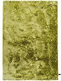 benuta Shaggy Hochflor Teppich Whisper Grün 80x150 cm | Langflor Teppich für Schlafzimmer und Wohnzimmer