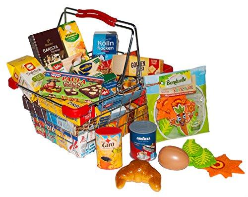 einkaufen spiel tanner 0335.2 - Küchenkorb gefüllt mit reichlich Zubehör(Sortiert)
