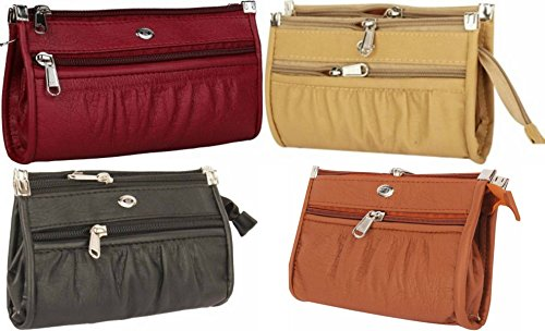 Rapid Costore (BIG CLUTCHES) 4 Clutch Combo Leather Wallet Purse Bag Daily use for Women and Girls