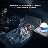 Projektor Lampe, Omitium LED Sternenhimmel Projektor Nachtlicht 360°Drehbare Kinder Lampe, Einschlafhilfe mit Farbspiel, Perfekt für Kinderzimmer, Schlafzimmer, Geburtstag, Parteien, Weihnachten - 3