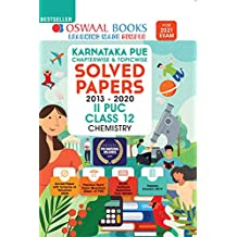 Oswaal Karnataka PUE Chapterwise & Topicwise Solved Papers, II PUC, Class 12, Chemistry (For 2021 Exam)