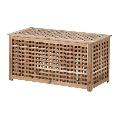 IKEA HOL Beistelltisch in Akazie (98x50x50cm)