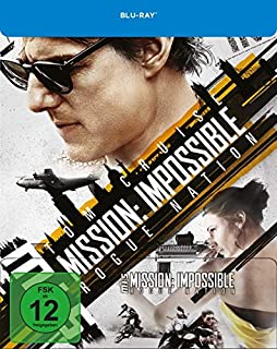 Mission Impossible: Rogue Nation [Blu-ray] limitiertes Steelbook