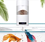 WTTTTW Smart Digital Fish Food Dispenser, Automatic Feeder for Fish Tanks and Aquariums, Programmable USB Charging
