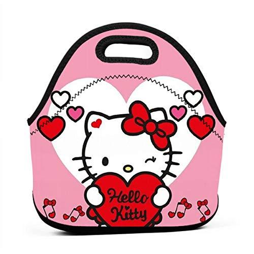 N/A Hello Kitty - Bolsa Almuerzo pequeña Cremallera
