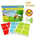 Best Baby Mosquito Repellents - INNOPLUS 108 COUNT Mosquito Repellent Patch, 100% Natural Review
