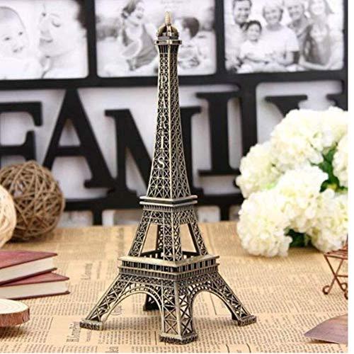 Oulensy Tono Bronce Torre Eiffel Estatua Figura Modelo