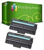 Pack 2 Unidades ML-1710D3 / SCX-4100D3 / SCX-4216D3 Tóner compatible con Samsung ML-1500 ML-1510 ML-1510B ML-1515 ML-1520 ML-1520P ML-1710 ML-1710B ML-1710D ML-1710P ML-1720 ML-1740 ML-1745 ML-1750 ML-1755 SF-755P Xerox 3130 3115 3116 3121 3210 P3115 P3130 PE16 Lexmark X215 Ricoh AC104 Fax 1170L Fax 2210L Aficio FX16 SCX-4116 SCX-4216 SCX-4216F SCX-5216 SF-560 SF-560P SF-565 SF-565P SF-750 SF-750P SF-755