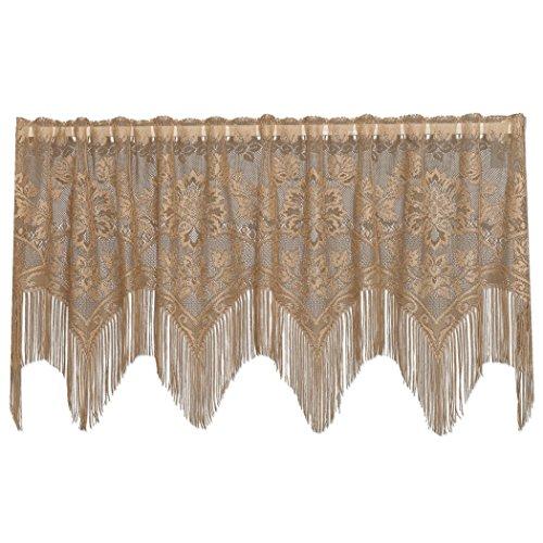 Heritage Lace Gala 152,4cm breit x 55,9cm Drop Antik 4-Wege - - Fenster Behandlungen Topper