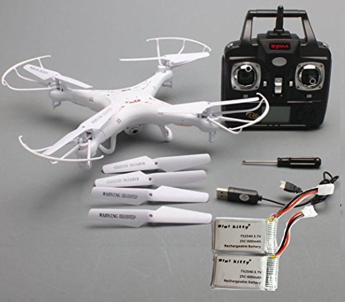 51BA17iOlgL - Syma X5C-1 2.4G HD Camera RC Quadcopter RTF RC Helicopter with 2.0MP Camera