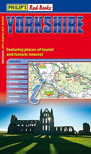 Philip's Red Books Yorkshire: Leisure and Tourist Map