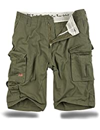 Trooper Cargo Shorts Lightning Edition im Bundle mit UD Sturmfeuerzeug