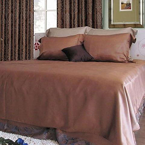 pura ropa de cama de seda/Gruesa inconsútil seda cama Mikasa-E 90x190cm(35x75inch)