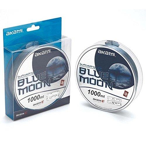 akami monofilamento Blue Moon 1000MT 0.185.22kg Nylon Sedal Surfcasting