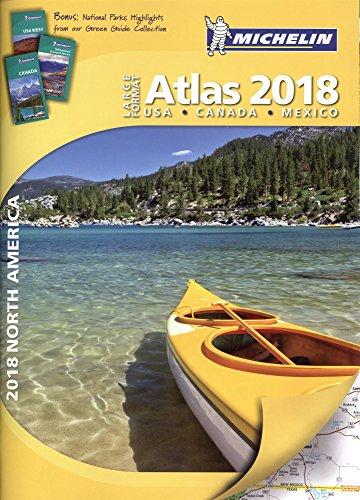 Michelin 2018 North America Large Format Atlas: USA, Canada, Mexico
