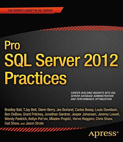 Pro SQL Server 2012 Practices (Professional Apress)