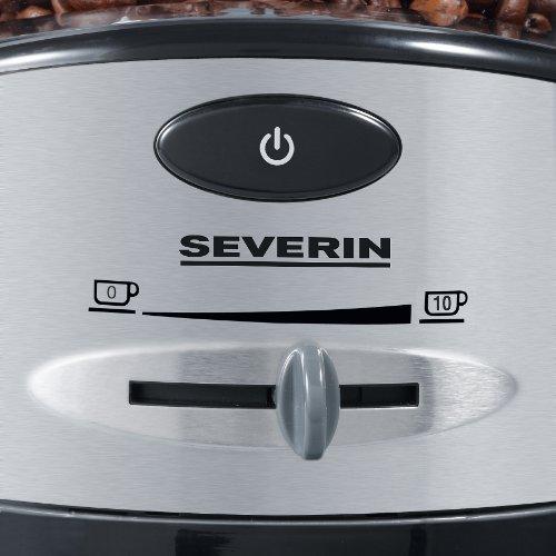 Severin - 3874 - Broyeur àcafé - 100 W - 150g - noir/argent