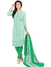 A K Designer Women's Chiffon Dress Material (Mehak1020_Free Size_Multi-Coloured)