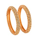 #7: Stone Zone Traditional One Gram Gold Original Style Golden Four Bangles For Daily Use