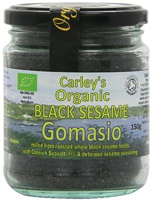 Carley's Organic Black Sesame Gomasio 150 g (Pack of 3)