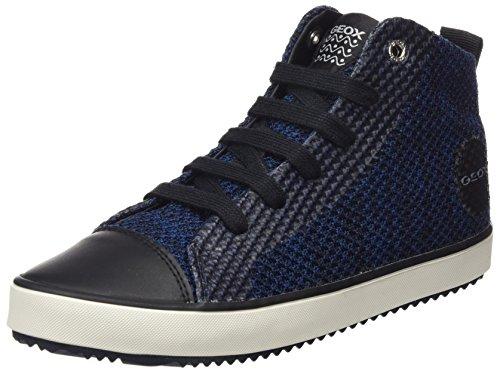 Geox j alonisso f, sneaker a collo alto bambino, blu (navy/black), 30 eu