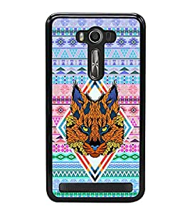 PRINTVISA Abstract Tiger Case Cover for Asus Zenfone 2 Laser ZE550KL::Asus Zenfone 2 Laser ZE550KL (5.5 Inches)