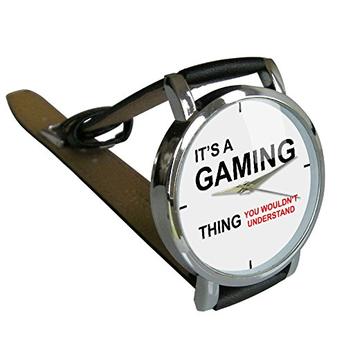 It 's a Gaming Thing Armbanduhr–HUMOR–Geschenk Armbanduhr–Gamer Geschenk–Geek Geschenk - 2