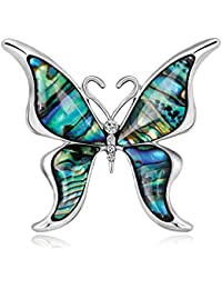 ee9e2a2d1a8c DIYOO Broche Insecto Mariposa Libélula Broches Aleación Retro Pin para  Mujeres Hombres Mejor Regalo Colorido
