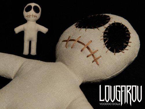 Dead Eye Doll sand Set - Voodoo Puppe mit Voodoo Nadel und Ritual-Anleitung
