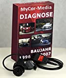 MyCor-Media OBD2 Diagnose Set für BMW komp. zu INPA NCSEXPERT Rheingold + Software