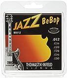 Thomastik Cordes Guitare électriques Jazz BeBop Nickel Round Wound Jeu BB112 Light .012-.050w