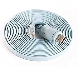 Ftdi Usb Rs232Serial Com Port Zu Rj45Männlich Konsole Kabel, Rollover Kabel Für Cisco Router