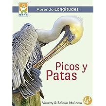 Picos y patas: Aprendo longitudes (Spanish Edition)