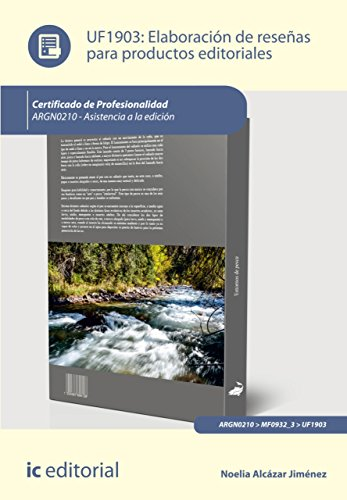 Elaboración de reseñas para productos editoriales. ARGN0210