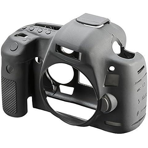 Easycover ECC5D3 - Funda de silicona para Canon 5D Mark III, color negro