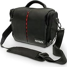 igadgitz Custodia per Fotocamera Resistente All'Acqua, Borsa Messenger per SLR
