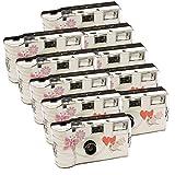 10 x PHOTO PORST alto tempo con farfalla/monouso per macchina fotografica/fotocamera Party (per 27 fotografie, con flash, 10-pezzi)