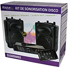 Ibiza DJ300MKII - Kit de sonorización disco