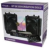 Ibiza DJ300MKII Set Audio Completo Composto Da 2 Casse, 1 Microfono, 1 Amplificatore e 1 Mixer