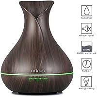 Aroma Diffuser, Aidodo Omasi 400ml Luftbefeuchter Oil Düfte Ultraschall Duft Humidifier Holzmaserung LED mit 7... preisvergleich bei billige-tabletten.eu