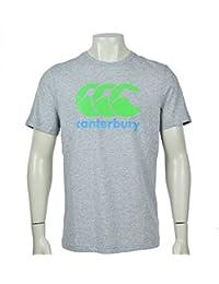 CANTERBURY CCC Graphic T-Shirt pour Homme Logo–Gris chiné