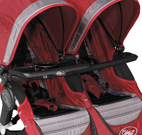 Baby Jogger City Double Stroller and Summit J7G60Children's Tray, Black